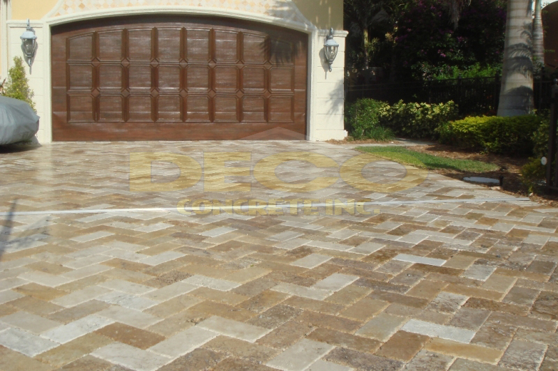 Pavers Stamped Concrete Overlays Concrete Pads Ipe Wood