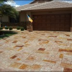 Hollywood stamped concrete