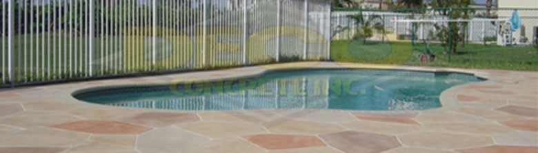 Stamped Concrete in Fort Lauderdale, Miami, Miami Beach