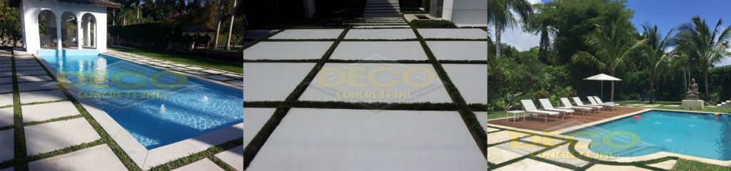 Decorative Concrete in Miami Beach, Miami, Miami-Dade