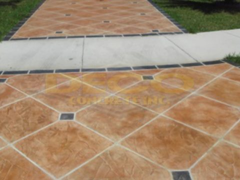 Decorative Concrete in Fort Lauderdale, Pembroke Pines, Pinecrest