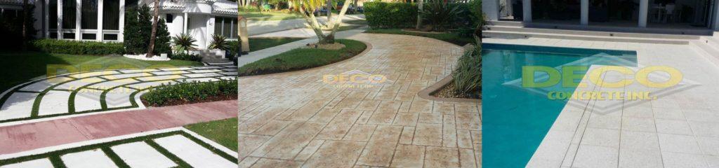Decorative Concrete in Fort Lauderdale, Palmetto Bay, Pembroke Pines