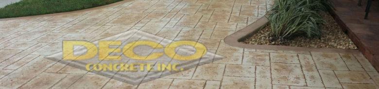 Decorative Concrete in Golden Beach, Fort Lauderdale, Pembroke Pines