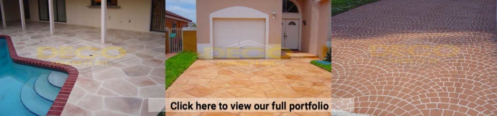 Driveway Pavers and Patio Pavers in Fort Lauderdale, Miami, Miami Beach