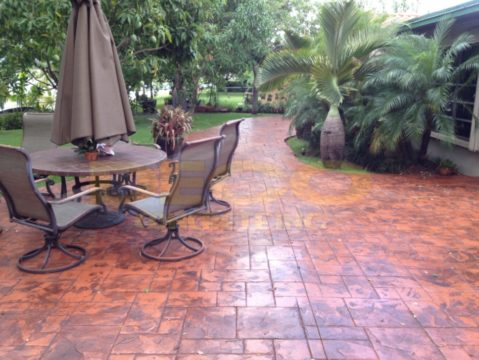 Stamped Concrete in Miami Beach, Miami, Coral Gables, Kendall