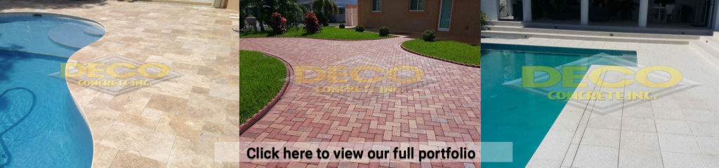 Brick Pavers and Patio Pavers in Fort Lauderdale, Miami, Palmetto Bay