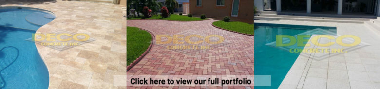 Brick Pavers in Fort Lauderdale, Palmetto Bay, Miami, Pembroke Pines