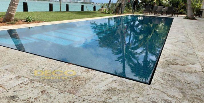 Keystone pool pavers