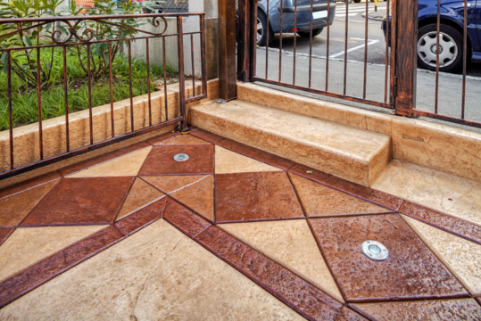 Stamped Concrete in Miami Beach, Parkland, Fort Lauderdale, Coral Gables
