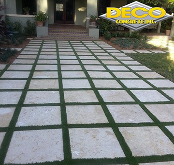 Concrete Pads in Palmetto Bay, Fort Lauderdale, Miami - Dade, Kendall
