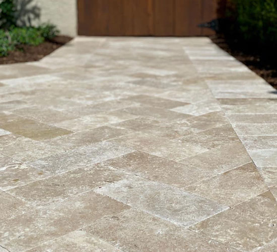 Travertine Tile Pavers Miami