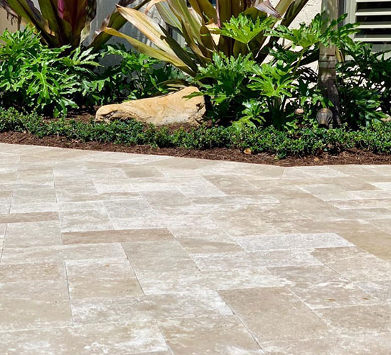 Travertine Tile Pavers Kendall